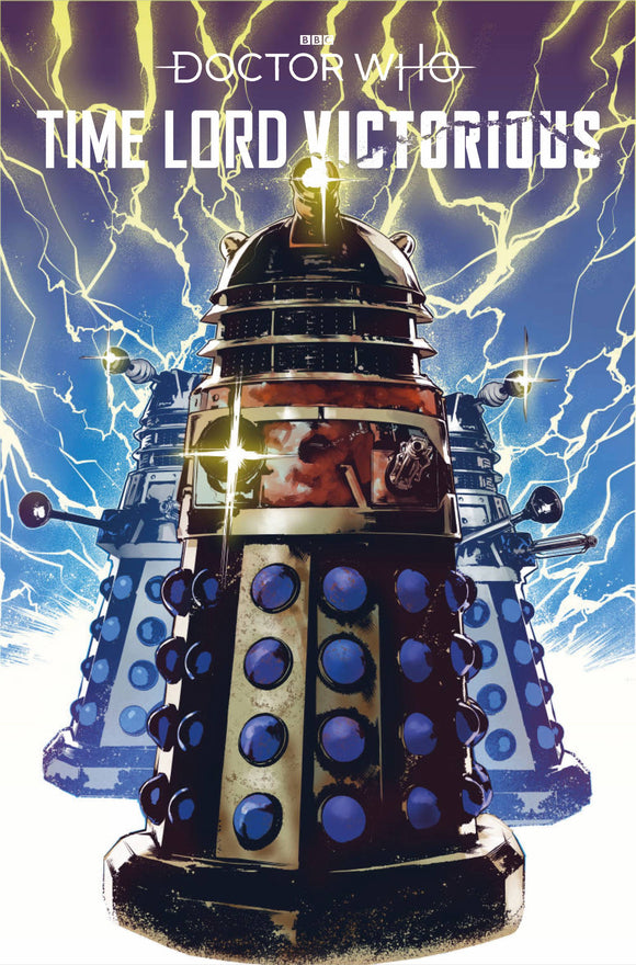 DOCTOR WHO TIME LORD VICTORIOUS #1 CVR D DALEK VAR - TITAN COMICS - Black Cape Comic