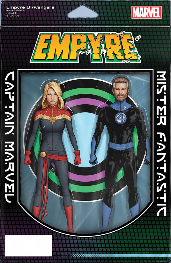 EMPYRE AVENGERS #0 CHRISTOPHER 2-PACK ACTION FIGURE VAR - Black Cape Comics