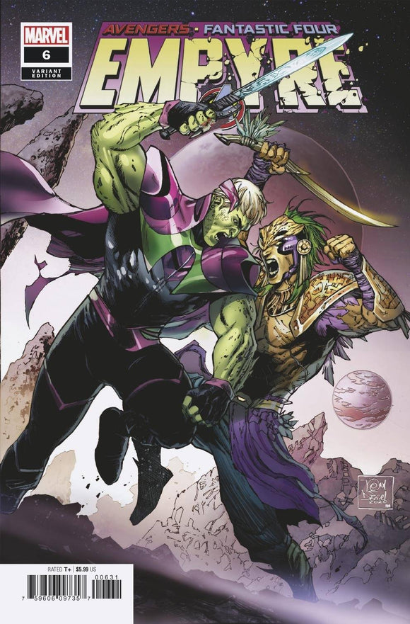 EMPYRE #6 (OF 6) DANIEL SKRULL KREE VAR - MARVEL COMICS - Black Cape Comic