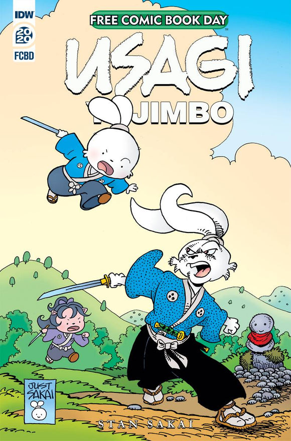 FCBD 2020 USAGI YOJIMBO - IDW PUBLISHING - Black Cape Comic