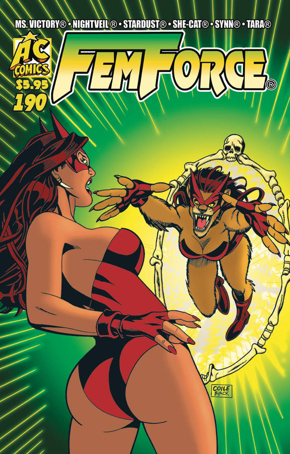 FEMFORCE #190 - AC COMICS - Black Cape Comic