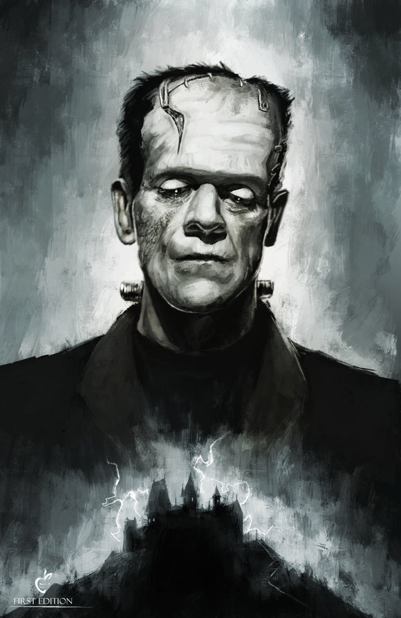 FRANKENSTEIN'S MONSTER - Black Cape Comics - Black Cape Comic