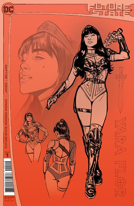 FUTURE STATE WONDER WOMAN #1 (OF 2) Second Printing