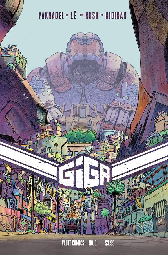 GIGA #1 CVR C GORHAM - VAULT COMICS - Black Cape Comic