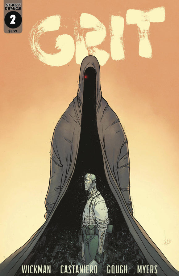 GRIT #2 - SCOUT COMICS - Black Cape Comic