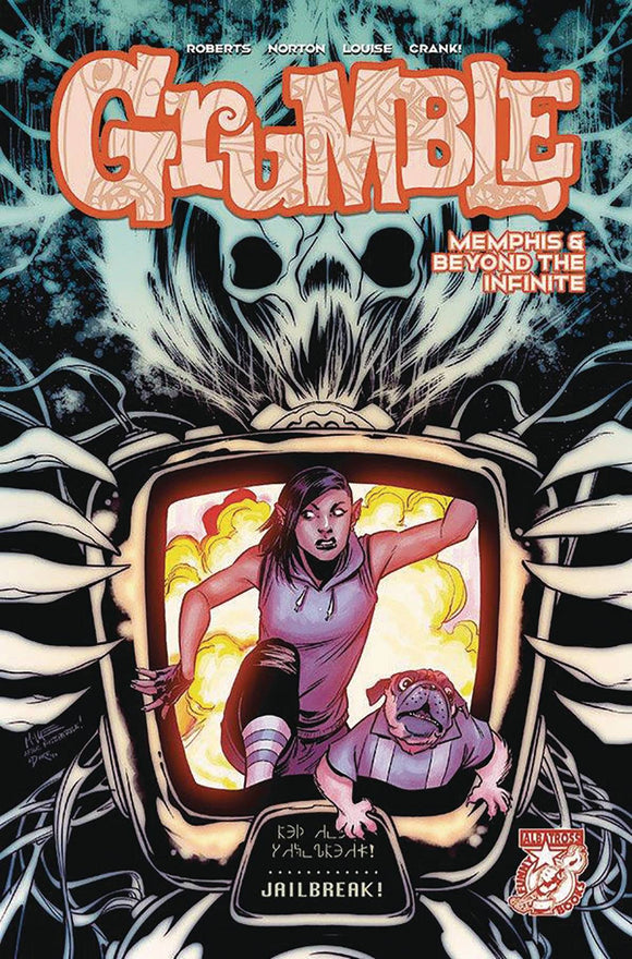 GRUMBLE MEMPHIS & BEYOND THE INFINITE #4 (OF 5) - ALBATROSS FUNNYBOOKS - Black Cape Comic