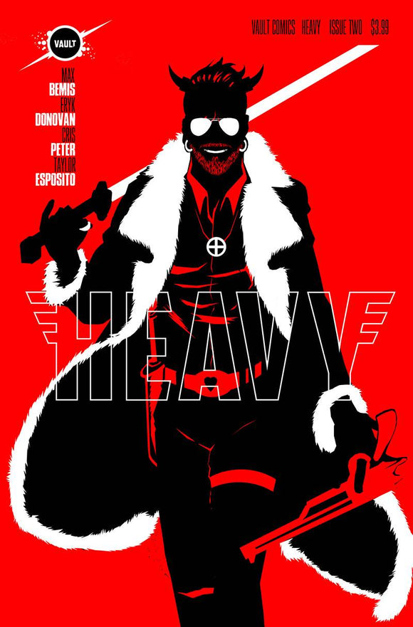 HEAVY #2 CVR B DANIEL - VAULT COMICS - Black Cape Comic