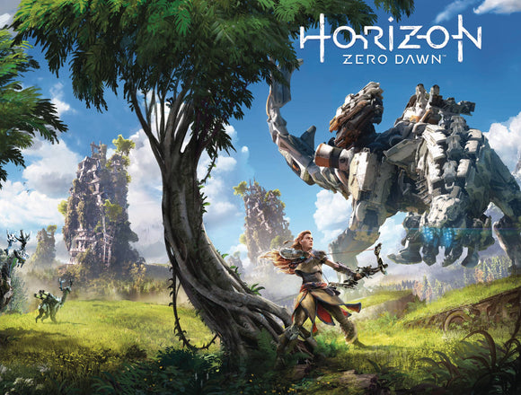 HORIZON ZERO DAWN #4 CVR B GAME ART WRAP