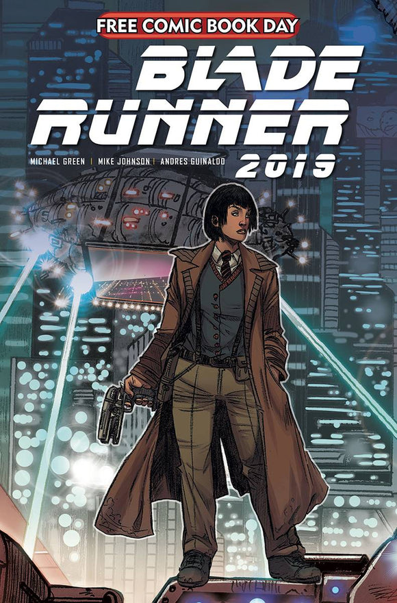 FCBD 2020 BLADE RUNNER (MR) - TITAN COMICS - Black Cape Comic