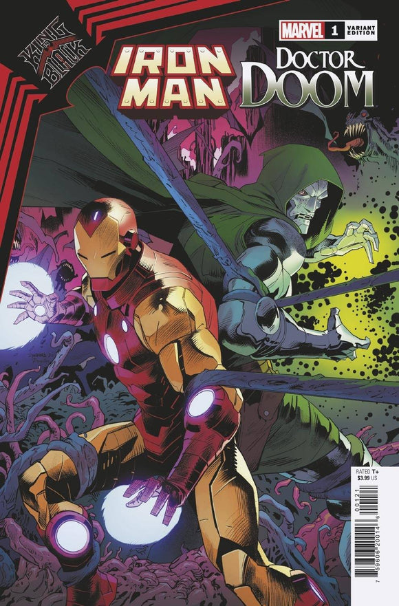 KING IN BLACK IRON MAN DOOM #1 MORA VAR