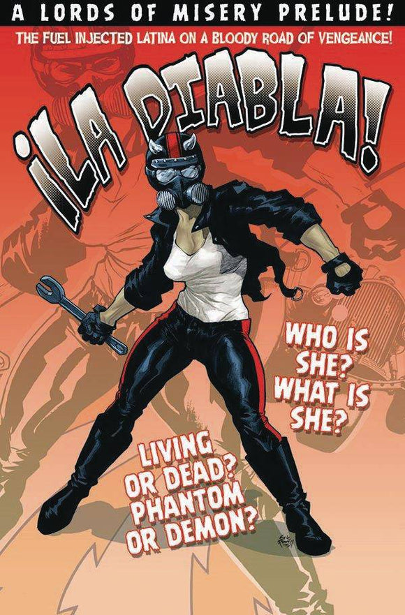 LA DIABLA #1 CVR A POWELL - ALBATROSS FUNNYBOOKS - Black Cape Comic