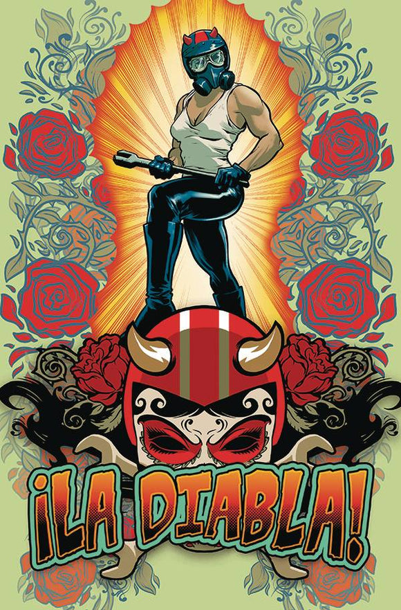 LA DIABLA #1 CVR POWELL CARDSTOCK - ALBATROSS FUNNYBOOKS - Black Cape Comic