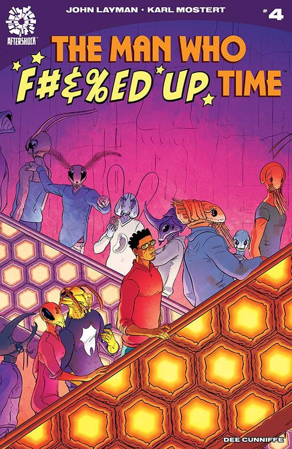 MAN WHO EFFED UP TIME #4 - Black Cape Comics