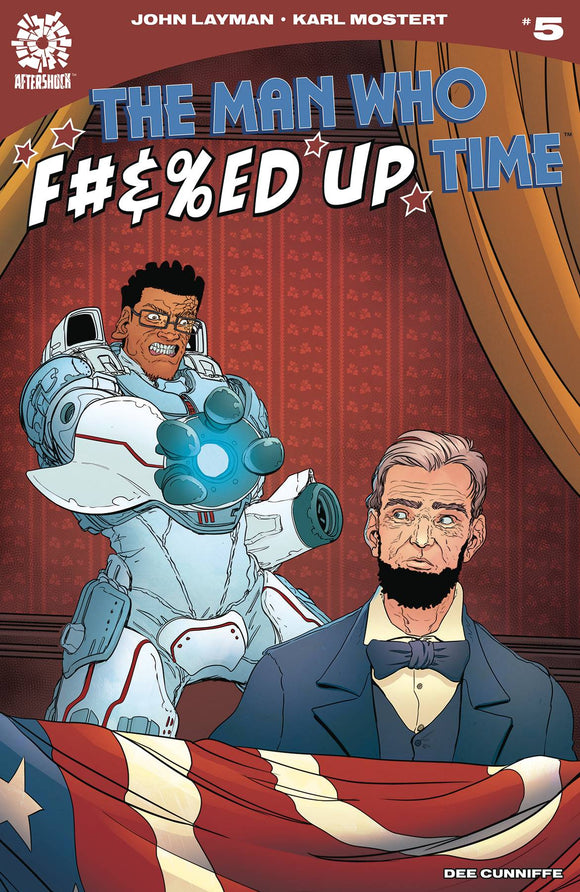 MAN WHO EFFED UP TIME #5 - AFTERSHOCK COMICS - Black Cape Comic