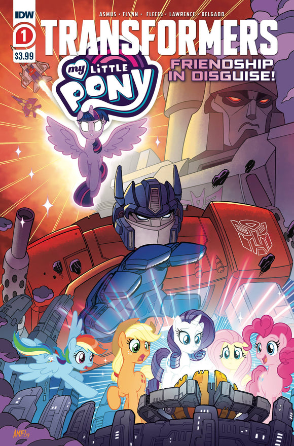 MY LITTLE PONY TRANSFORMERS #1 (OF 4) 2ND PTG - IDW PUBLISHING - Black Cape Comic