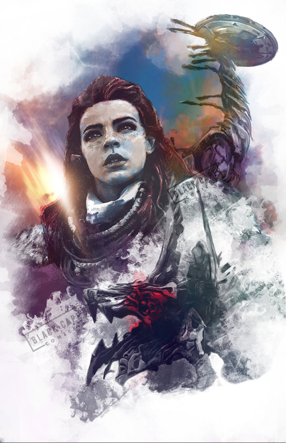 Horizon Zero Dawn Print - Black Cape Comics - Black Cape Comic