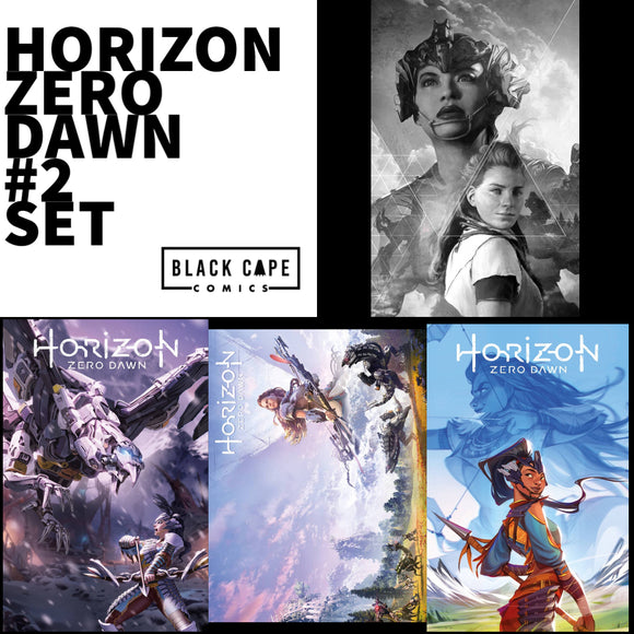 HORIZON ZERO DAWN #2 Collectors Set