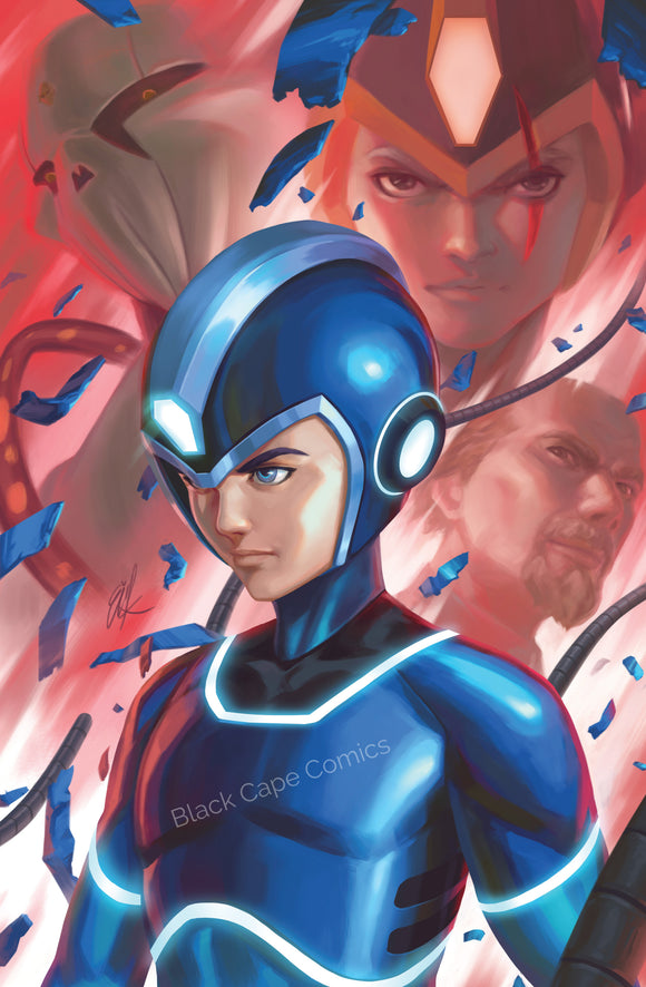 MEGA MAN FULLY CHARGED #1 Black Cape Comics Exclusive - BOOM! STUDIOS - Black Cape Comic