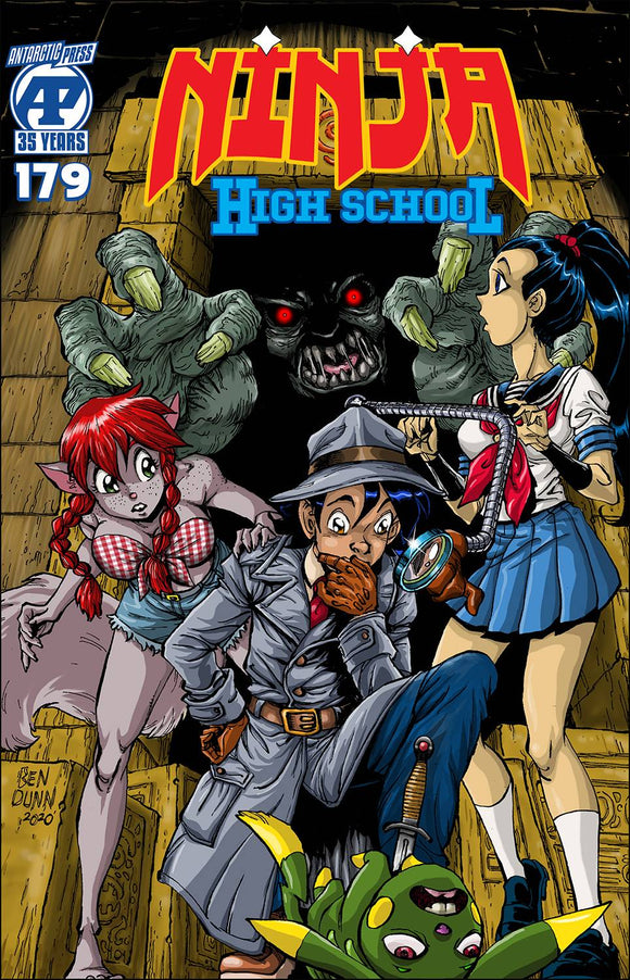 NINJA HIGH SCHOOL #179 - ANTARCTIC PRESS - Black Cape Comic