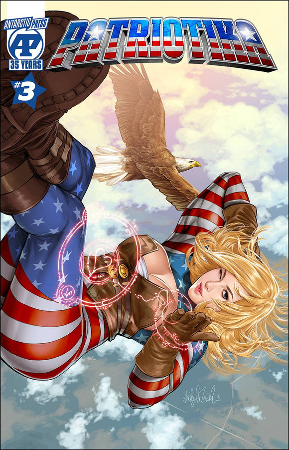 PATRIOTIKA #3 CVR A CHUCK - ANTARCTIC PRESS - Black Cape Comic