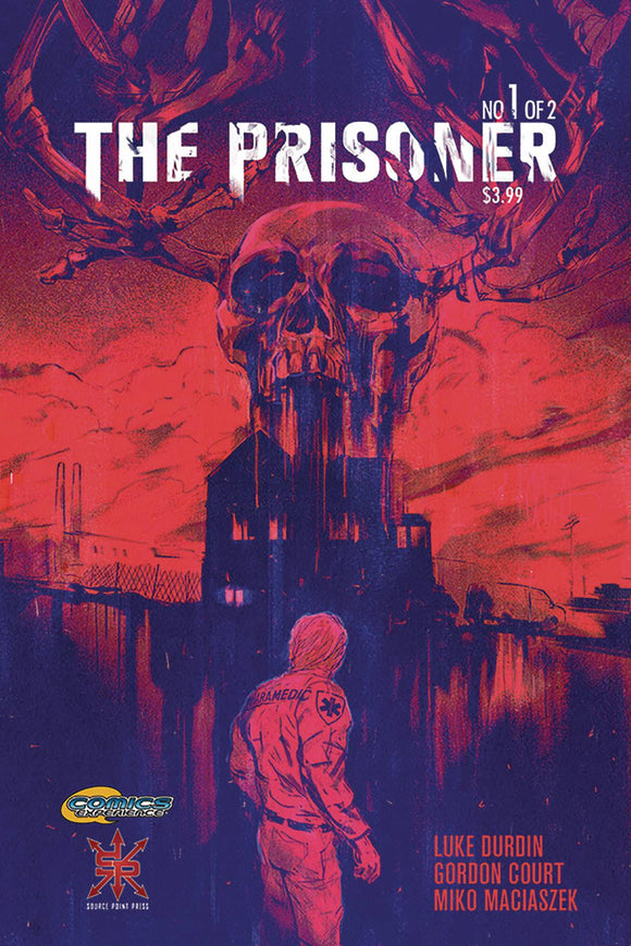 PRISONER #1 (MR) - SOURCE POINT PRESS - Black Cape Comic