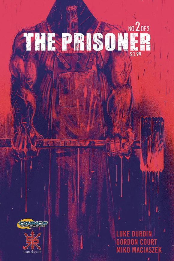 PRISONER #2 - SOURCE POINT PRESS - Black Cape Comic