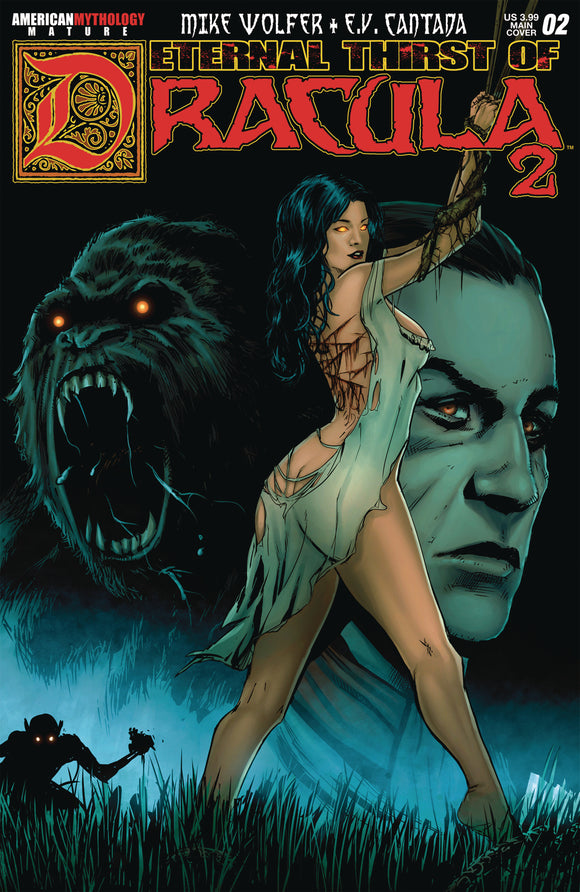ETERNAL THIRST OF DRACULA 2 #2 (O/A) (MR) - AMERICAN MYTHOLOGY PRODUCTIONS - Black Cape Comic