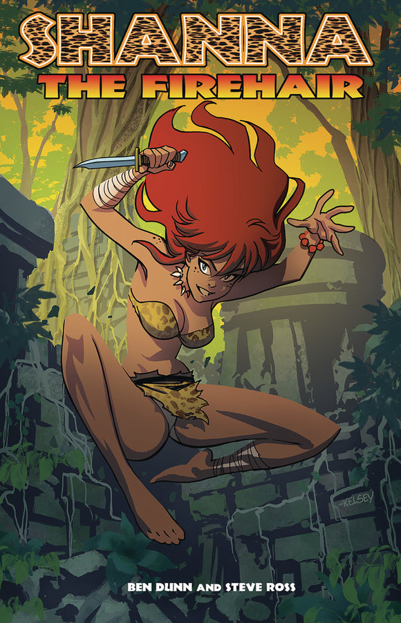 SHANNA THE FIREHAIR ONE SHOT - Black Cape Comics