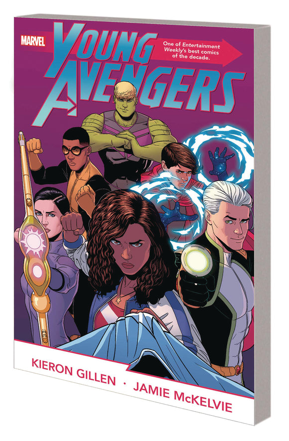 YOUNG AVENGERS BY GILLEN MCKELVIE COMPLETE COLLECTION TP - Black Cape Comics