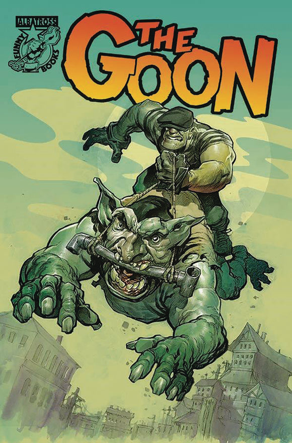 GOON #12 CVR A POWELL - ALBATROSS FUNNYBOOKS - Black Cape Comic