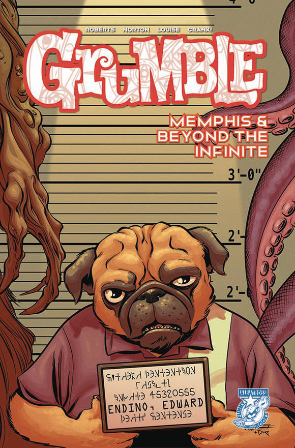 GRUMBLE MEMPHIS & BEYOND THE INFINITE #3 (OF 5) - ALBATROSS FUNNYBOOKS - Black Cape Comic