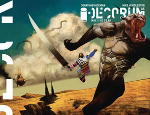 DECORUM #3 CVR B HUDDLESTON (MR) - Black Cape Comics
