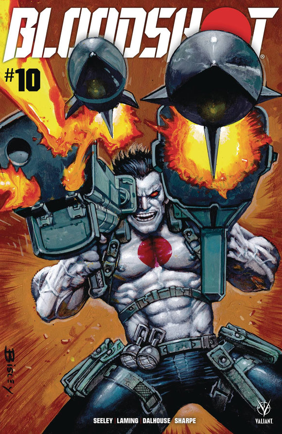 BLOODSHOT (2019) #10 CVR A BISLEY (RES) - Black Cape Comics