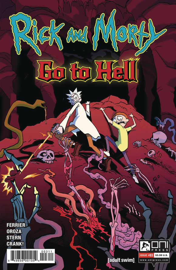 RICK AND MORTY GO TO HELL #3 CVR A OROZA - Black Cape Comics