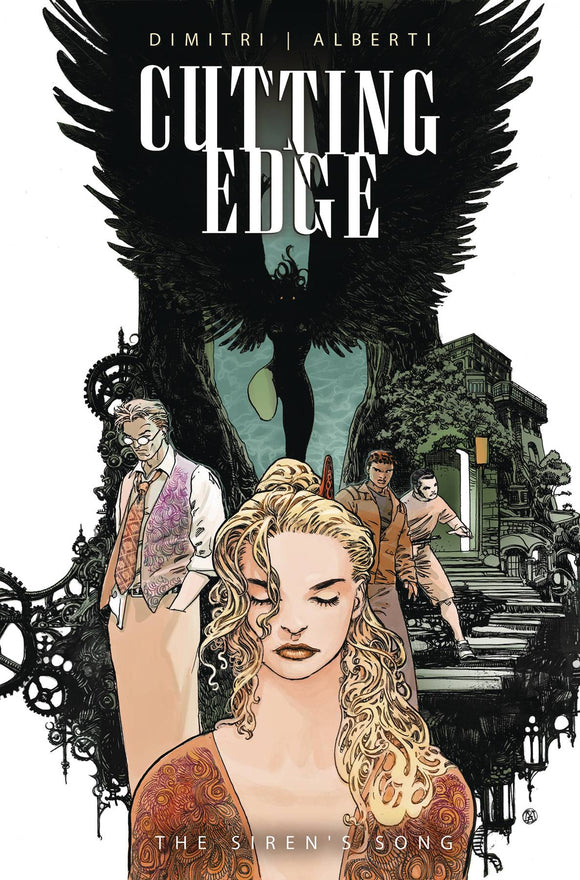 CUTTING EDGE SIRENS SONG #2 CVR B ALBERTI (RES) (MR) - TITAN COMICS - Black Cape Comic