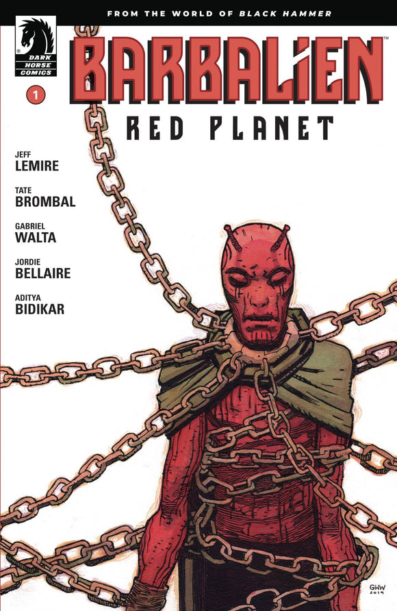 BARBALIEN RED PLANET #1 (OF 5) CVR A WALTA - DARK HORSE COMICS - Black Cape Comic
