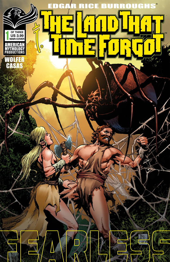 LAND THAT TIME FORGOT FEARLESS #1 CVR A MARTINEZ - AMERICAN MYTHOLOGY PRODUCTIONS - Black Cape Comic