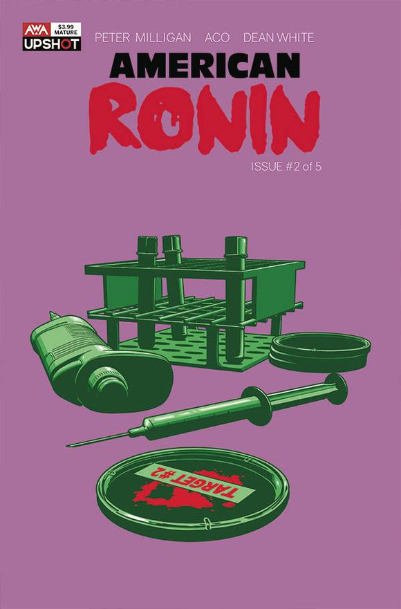 AMERICAN RONIN #2 (OF 5) CVR A ACO (MR) - ARTISTS WRITERS & ARTISANS INC - Black Cape Comic