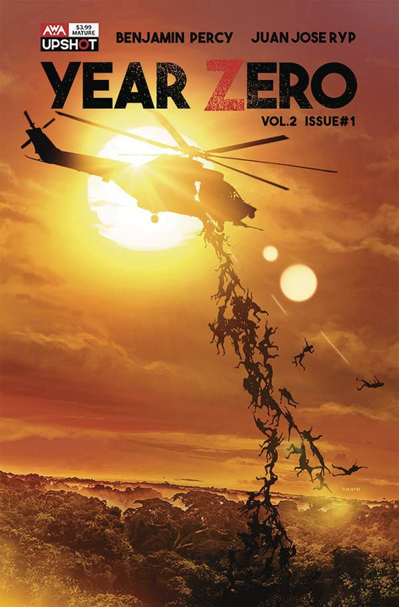 YEAR ZERO VOL 2 #1 CVR A KAARE ANDREWS - ARTISTS WRITERS & ARTISANS INC - Black Cape Comic