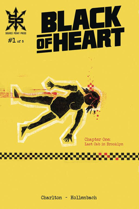 BLACK OF HEART #1 (OF 5) (MR) - SOURCE POINT PRESS - Black Cape Comic