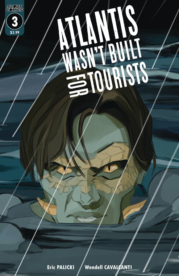 ATLANTIS WASN`T BUILT FOR TOURISTS #3 - SCOUT COMICS - Black Cape Comic