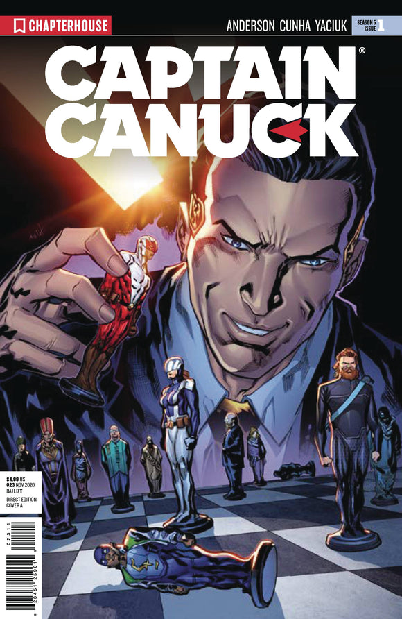CAPTAIN CANUCK SEASON 5 #1 - CHAPTERHOUSE PUBLISHING, INC - Black Cape Comic