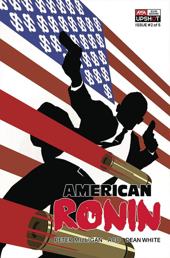 AMERICAN RONIN #2 (OF 5) CVR B RAHZZAH (MR) - ARTISTS WRITERS & ARTISANS INC - Black Cape Comic