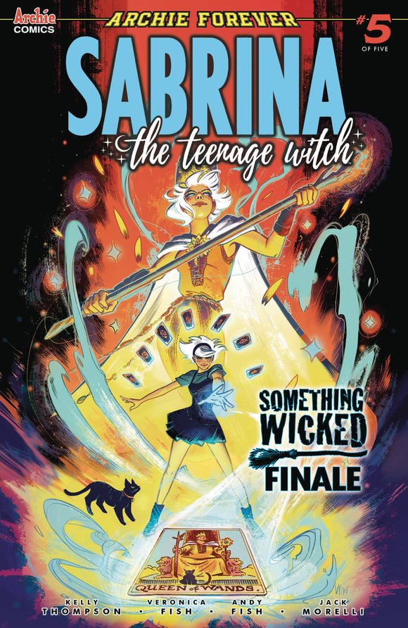 SABRINA SOMETHING WICKED #5 (OF 5) CVR A VERONICA FISH - ARCHIE COMIC PUBLICATIONS - Black Cape Comic