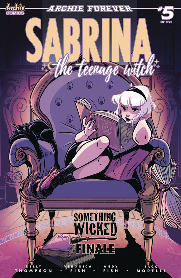 SABRINA SOMETHING WICKED #5 (OF 5) CVR B BOO - ARCHIE COMIC PUBLICATIONS - Black Cape Comic