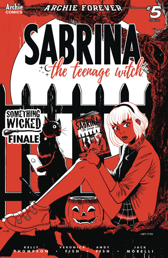SABRINA SOMETHING WICKED #5 (OF 5) CVR C ANDY FISH - ARCHIE COMIC PUBLICATIONS - Black Cape Comic