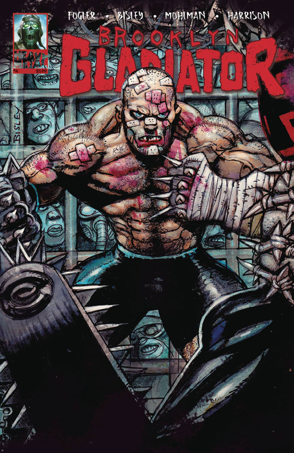 BROOKLYN GLADIATOR #4 (OF 5) (MR) - HEAVY METAL MAGAZINE - Black Cape Comic