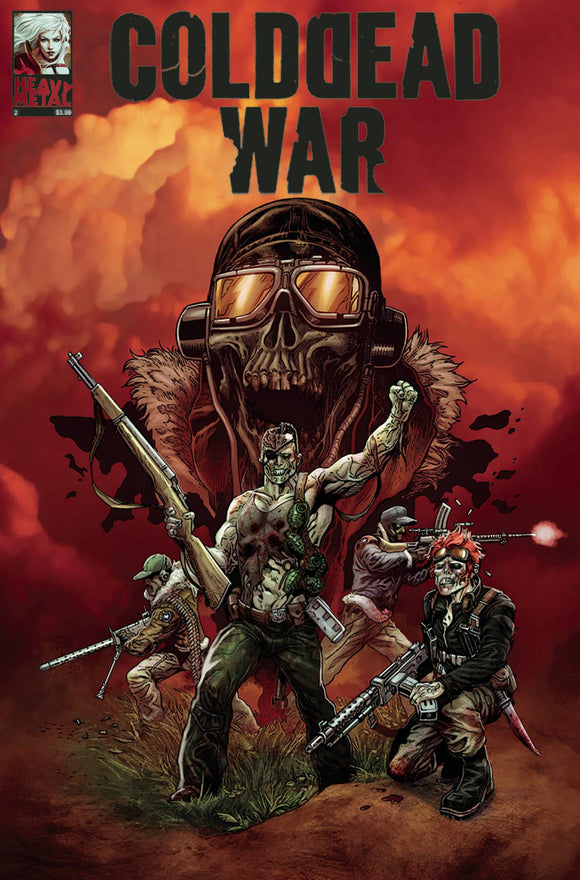 COLD DEAD WAR #2 (OF 4) (MR) - HEAVY METAL MAGAZINE - Black Cape Comic