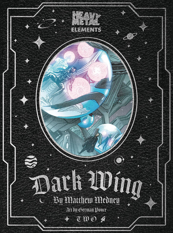 DARK WING #2 (OF 10) - HEAVY METAL MAGAZINE - Black Cape Comic