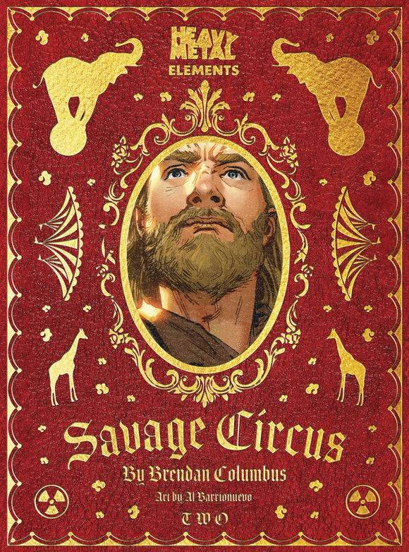 SAVAGE CIRCUS #2 (OF 10) (MR) - HEAVY METAL MAGAZINE - Black Cape Comic